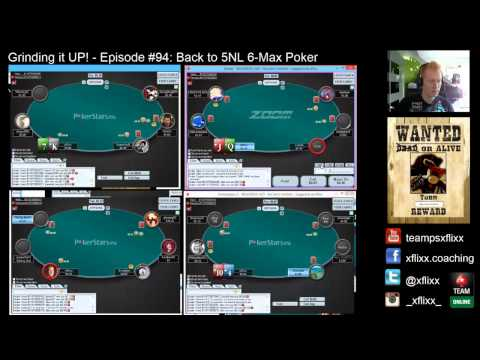 Grinding it UP! #94 - Back to 5NL 6-Max Poker