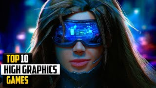 Top 10 High Graphics Games For Android 2020 (Online/offline)