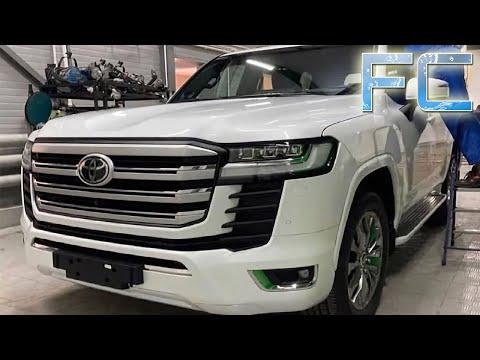 Toyota Land Cruiser 300 (2021) фото и видео нового Лэнд Крузер