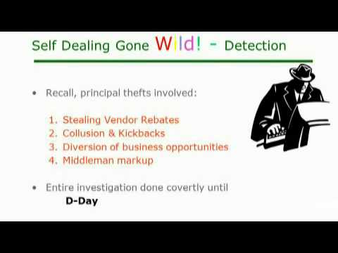 Financial Investigations: Case Study - Self Dealing Gone Wild!