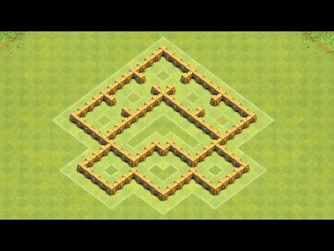 Clash Of Clans Town Hall 5 Defense BEST CoC TH5 Trophy Base Layout Defense Strategy