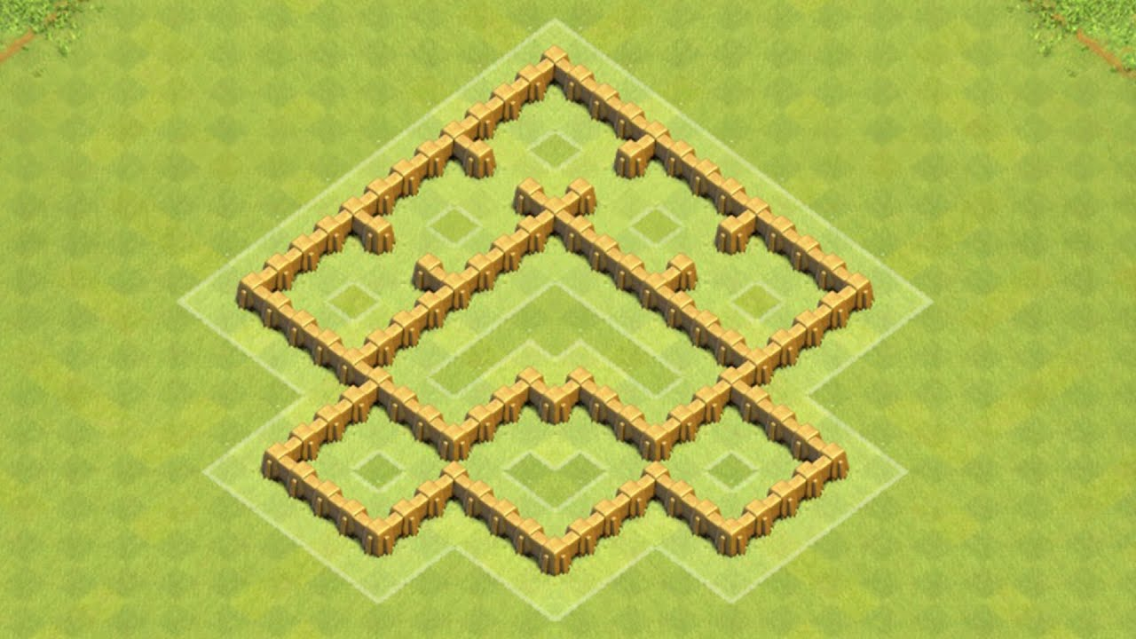 Defense best coc th5 trophy base layout defense strategy youtube