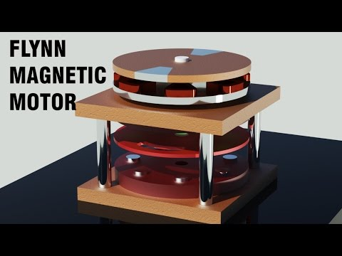 Overunity Magnet Motor - Free Energy Generator 2017