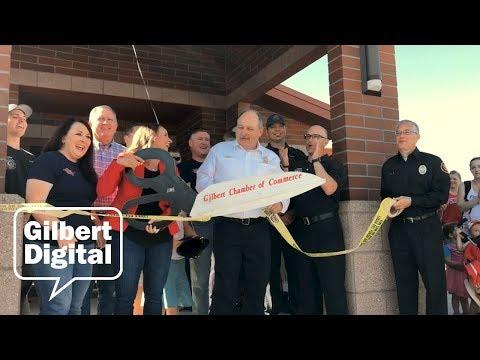 New Fire Station Opens in Gilbert, AZ