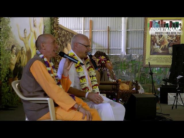 Е.М. Манедхара прабху на Фестивале Санкиртаны. Садху Санга 2019
