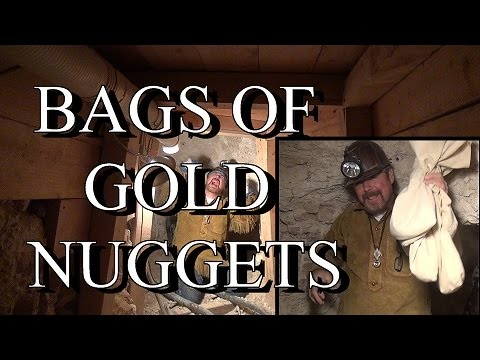 BAGS OF GOLD NUGGETS  From Our Secret Mine ask Jeff Williams