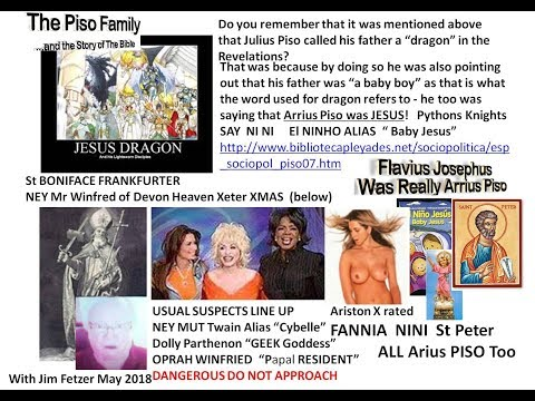 Flavian Arrian M Racers Jesus' Dragons den Dolly Papal Piso Parthenon Bible Fakers & Quakers