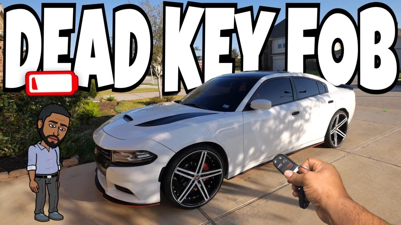 How To Start Your Car With A Dead Key Fob Dodge Chrysler Jeep