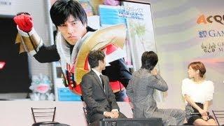俳優の要潤さんが9月19日、幕張メッセ(千葉市美浜区)で開幕した国内最...