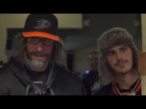 Ryan Kesler Goes Undercover as a Ducks Fan
