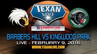 barbers hill vs kingwood park varsity 2 9 16