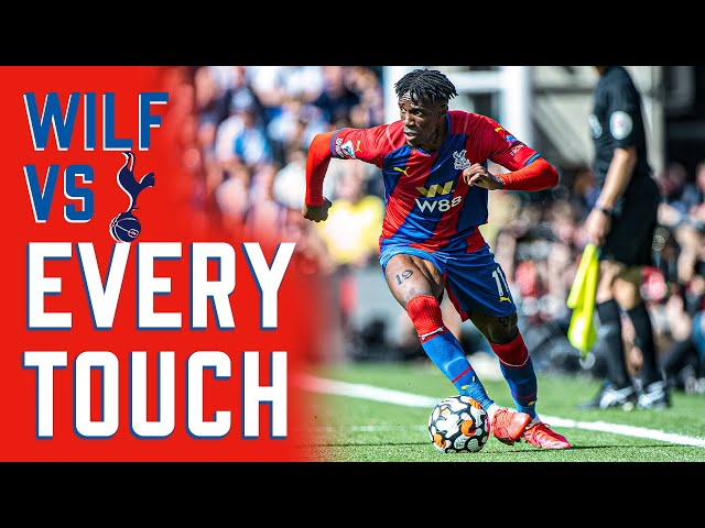 Wilfried Zaha | Every touch vs Spurs