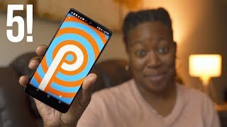 Android P - My Top 5 Favorite Features!
