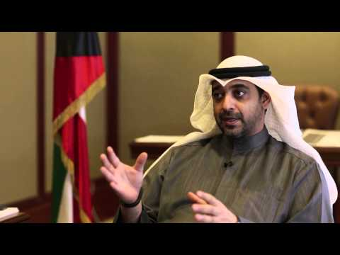 H.E. Sheikh Mohammad A. Al-Mubarak Al-Sabah - Minister of State for Cabinet Affairs - Kuwait