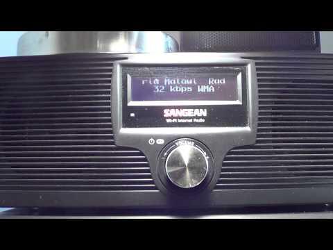 Radio maria malawi on sangean wfr20 internet radio