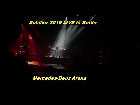 Schiller Live Lichtshow 14.10.2016 Mercedes Benz Arena Berlin