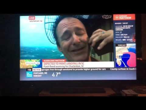 Hurricane Matthew @Frying Pan Tower
