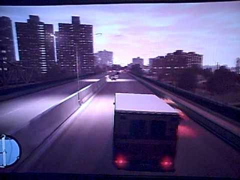 GTA IV BOGT - Ambulance Police Chase & Exploding Cars