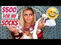 $500 FOR MY DIRTY SOCKS?! |WINE TIME STORYTIME