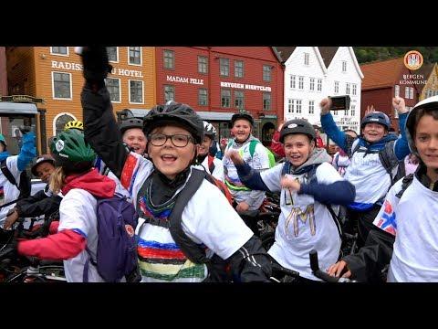 Sykkelløp for barn og eldre