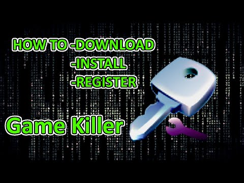 HOW TO DOWNLOAD, INSTALL & REGISTER GAME KILLER FULL VERSION 2015/2016