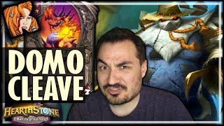 THE DOMO-CLEAVE BUILD! - Hearthstone Battlegrounds