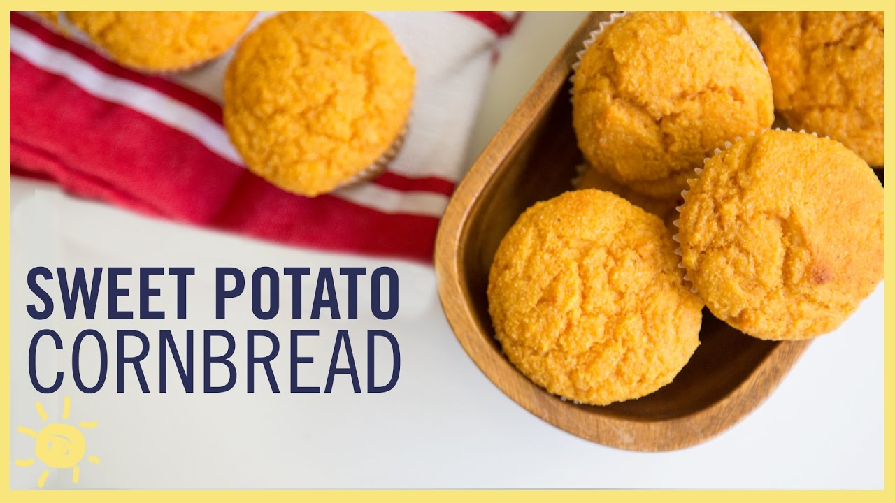 EAT | Sweet Potato Cornbread Muffins - YouTube