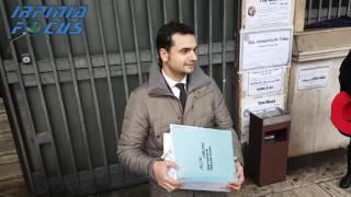 Alto Calore - Carlo Sibilia M5S consegna un dossier in Procura: Troppe irregolarità nelle gestione