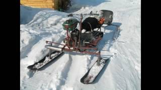 слайслайд шоу. самодельный трактор,снегоход, каракат,аэросани,трактор