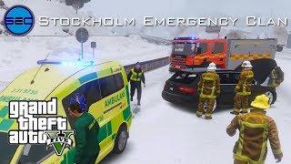 Tva dog i ambulanskrock