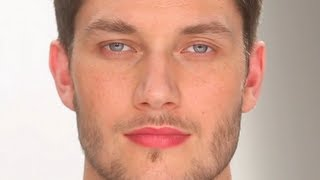 Subtle 'undercover' make-up for men: a groomed, healthy look | Charlotte Tilbury tutorial thumbnail