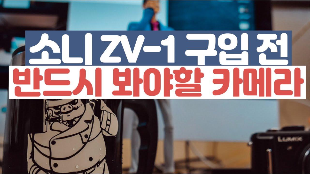 김경만 감독의 사진학개론 소니 ZV-1 구입 전 반드시 봐야 할 파나소닉 G100 출시