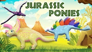 JURASSIC PONIES - My Little Pony Dinosaur Mashup DIY Custom Toy Tutorial