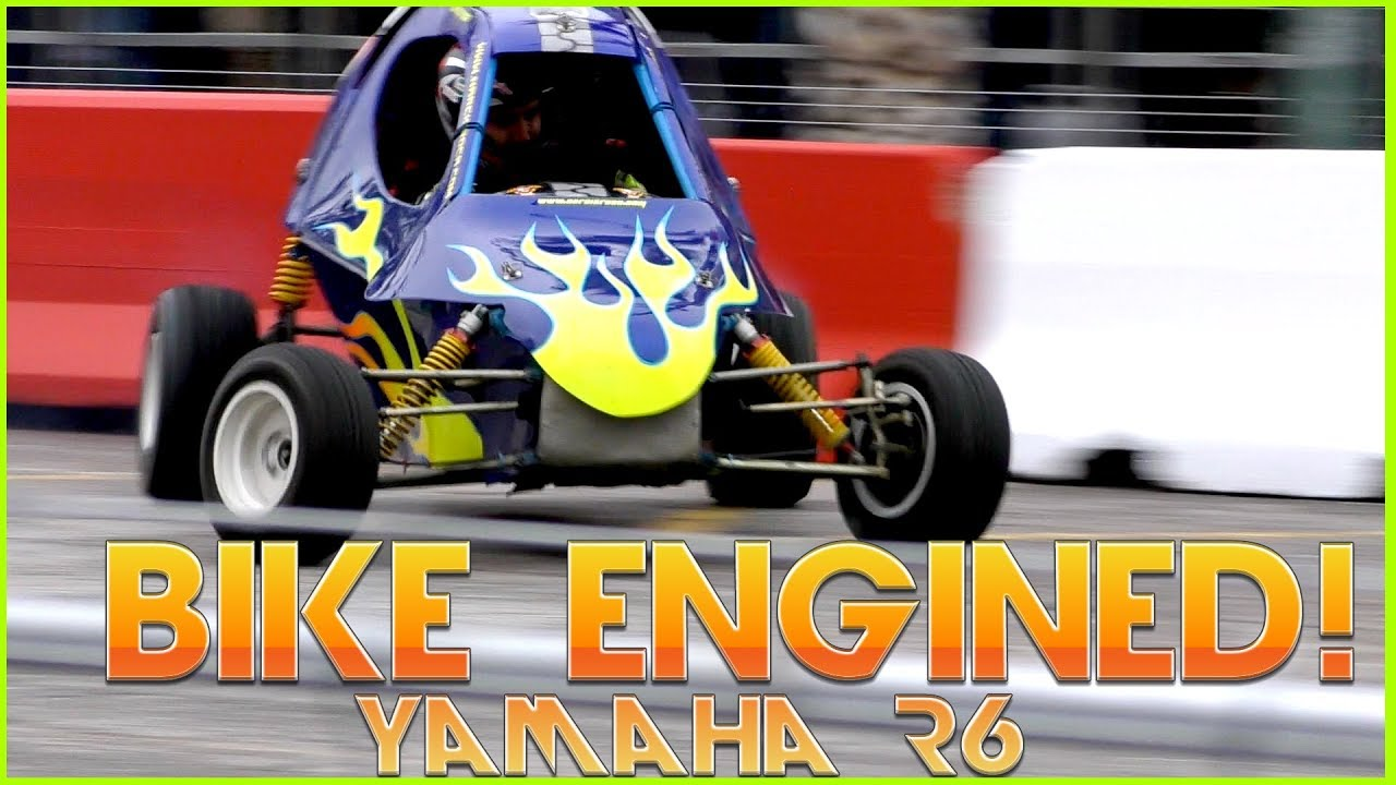 BIKE ENGINED CARS - Mini Sand Rail / Mini Buggy Yamaha R6 ( Motorcycle engine)