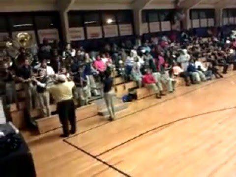 Jamming at East Marion High School Senior Night