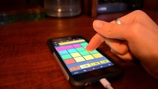 iMaschine 2 - Making a Song Live (iPhone 6S) - Part 2