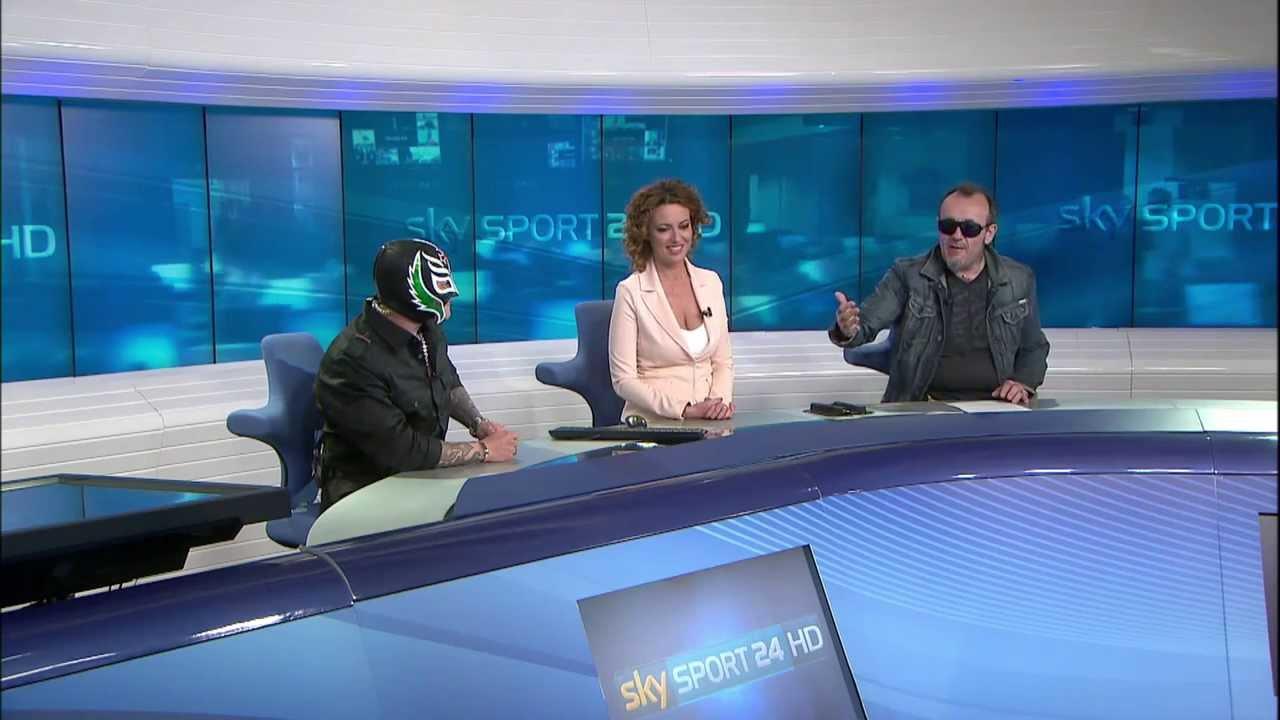 Franchini & Rey Mysterio a Sky Sport 24 - 20.03.2014
