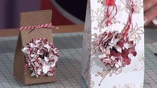 Paper Flower Gift Box Tutorial | docrafts Creativity TV