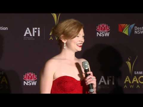 Sarah Snook, media room   AACTA AWARD BEST ACTRESS IN A TV DRAMA  Sisters Of War