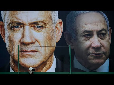 Benny Gantz and Benjamin Netanyahu, From YouTubeVideos
