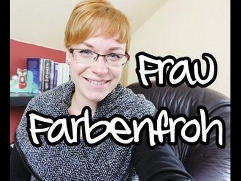 Instagram Frau Farbenfroh