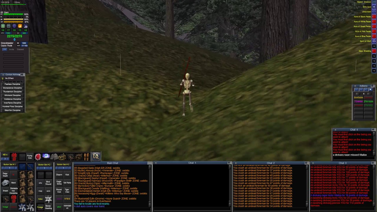 Project 1999 Everquest Fires of Heaven EARTHQUAKE!!!