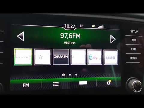 Шкода Октавия А7 NEW!!! Обзор Радио Bolero!!! Часть первая.