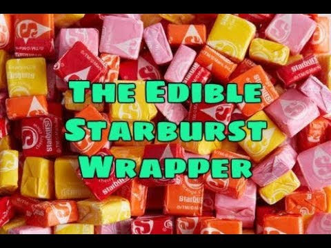 the edible starburst wrapper youtube