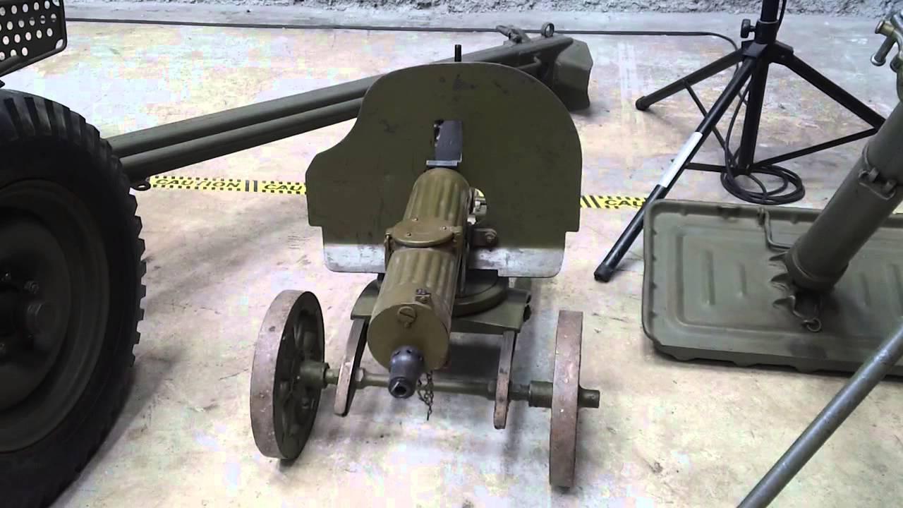 Maxim Machine Gun Modele  National World War II Museum New - Gun museums in usa
