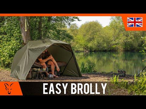 ***CARP FISHING TV*** Easy Brolly