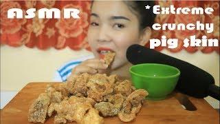 ASMR Fried PIG skin *EXTREME CRUNCHY EATING SOUNDS * - NYNY-ASMR