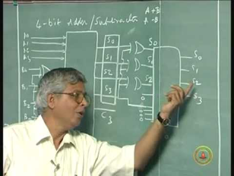 Lecture 14 2 S Complement Subtractor And Bcd Adder Youtube