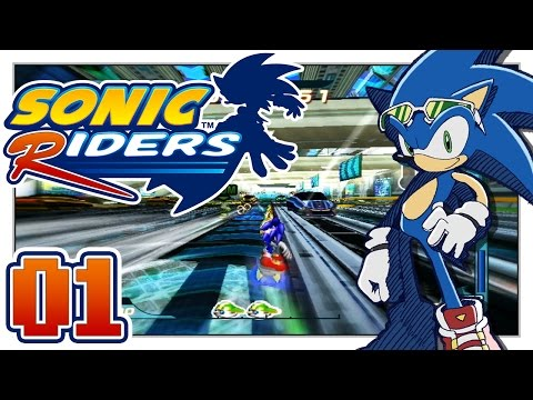 Sonic Riders - Searching For Dragonballs! - Part 1  - Heroes