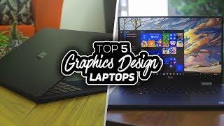 Top 5 Best Laptops For Graphics Design 2019!